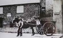 Horse  Cart at The Turning Photo Courtesy of George Wells